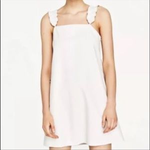 Zara Basic Collection White Dress